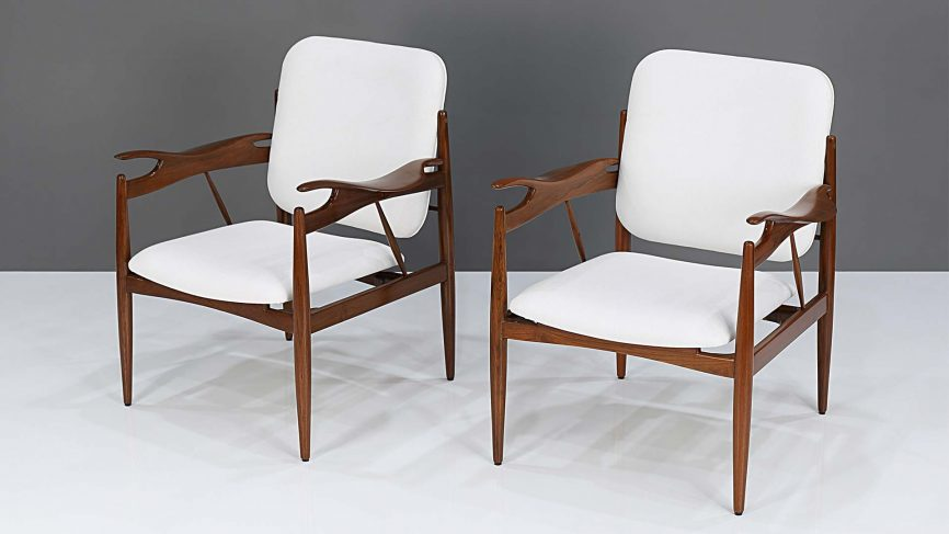 art deco krzesła
